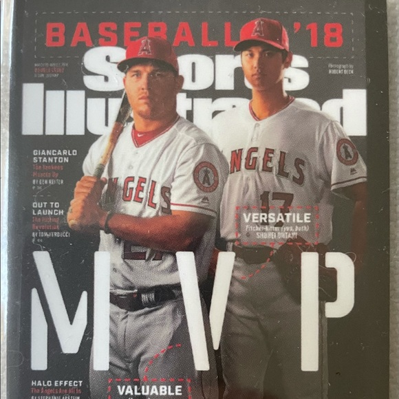 2021 Topps x Sports Illustrated Trout & Ohtani #36